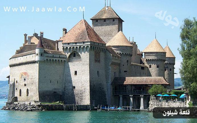 صور لقلعة شيلون السويسرية